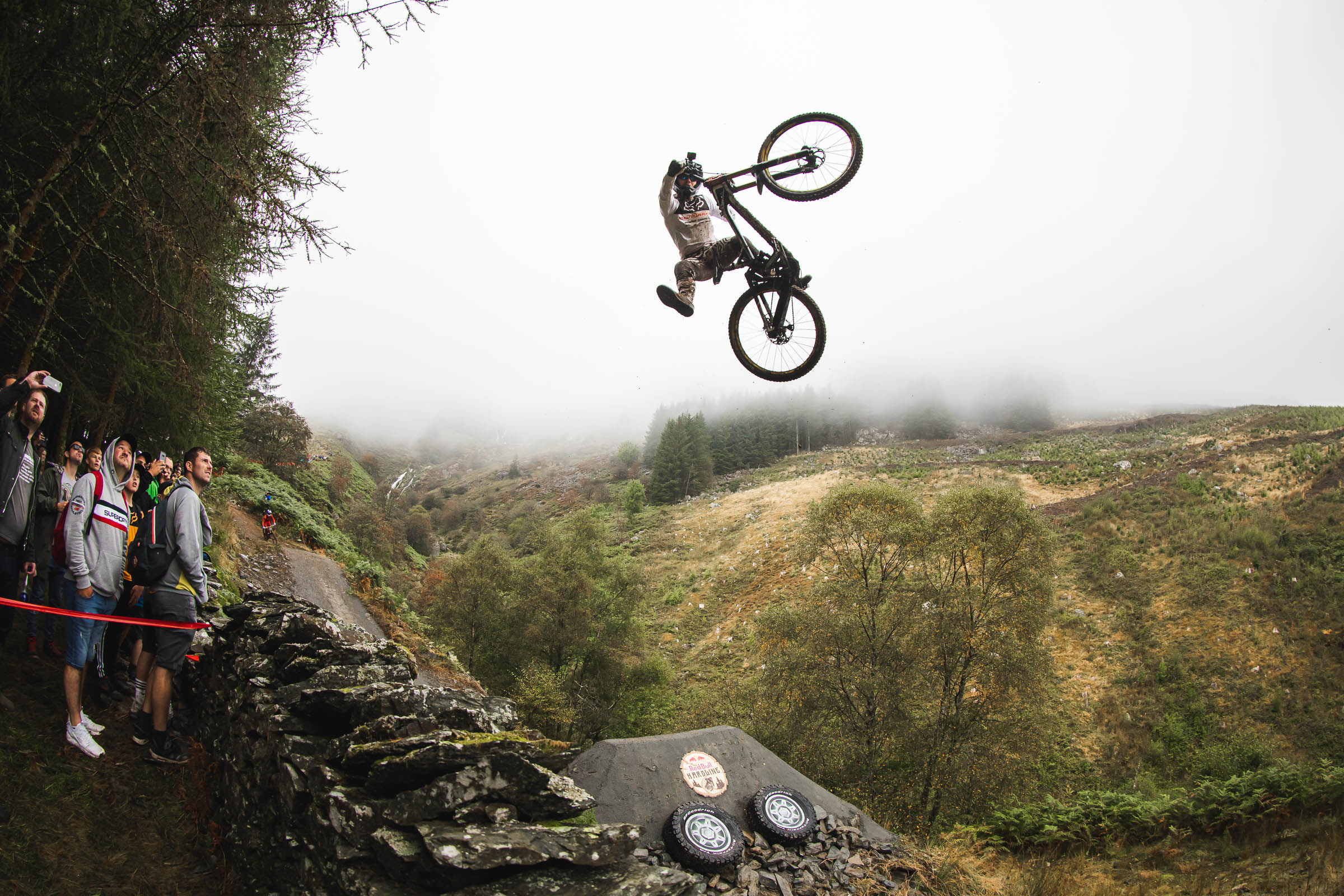 Action - Mountain Bike, Wales